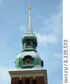 Купить «winter spire hamburg steeple barockkirche», фото № 8339519, снято 17 июня 2019 г. (c) PantherMedia / Фотобанк Лори