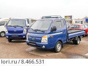 Купить «Hyundai Porter», фото № 8466531, снято 19 апреля 2012 г. (c) Art Konovalov / Фотобанк Лори
