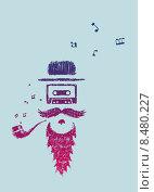 Купить «Символ старой музыки», иллюстрация № 8480227 (c) Евгений Бакал / Фотобанк Лори
