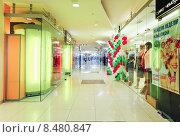 Купить «Интерьер торгового центра», эксклюзивное фото № 8480847, снято 18 апреля 2013 г. (c) Алёшина Оксана / Фотобанк Лори
