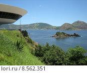 Купить «museum brazil rio oscar niemeyer», фото № 8562351, снято 21 марта 2019 г. (c) PantherMedia / Фотобанк Лори