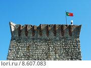 Купить «Ourém Castle (blue sky background)», фото № 8607083, снято 24 июня 2019 г. (c) PantherMedia / Фотобанк Лори