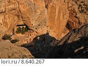 Купить «monastery incision convent ravine syria», фото № 8640267, снято 23 марта 2019 г. (c) PantherMedia / Фотобанк Лори