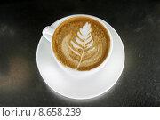 Купить «Cappuccino Latte Art», фото № 8658239, снято 23 июля 2019 г. (c) PantherMedia / Фотобанк Лори