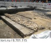 Купить «historical archeology excavation archeological excavations», фото № 8701115, снято 25 марта 2019 г. (c) PantherMedia / Фотобанк Лори