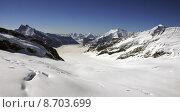 Купить «glacier crevasses aletschgletscher alpenpanorama gletscherr», фото № 8703699, снято 10 декабря 2018 г. (c) PantherMedia / Фотобанк Лори