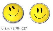 Купить «Smiley Button», иллюстрация № 8784627 (c) PantherMedia / Фотобанк Лори