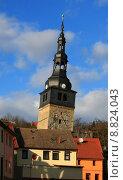 Купить «old tower monument germany skew», фото № 8824043, снято 19 июля 2018 г. (c) PantherMedia / Фотобанк Лори