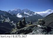 Купить «nepal himalayas kangtaiga khumbu tramserku», фото № 8875367, снято 20 июля 2019 г. (c) PantherMedia / Фотобанк Лори