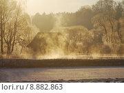 Купить «Foggy winter scenic», фото № 8882863, снято 23 марта 2019 г. (c) PantherMedia / Фотобанк Лори