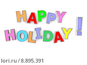 Купить «Colourful Happy Holiday», фото № 8895391, снято 21 сентября 2019 г. (c) PantherMedia / Фотобанк Лори
