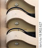Купить «Balconies on modern hotel. Cannes.France», фото № 8902627, снято 23 марта 2019 г. (c) PantherMedia / Фотобанк Лори