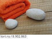 Купить «relaxation relax wellness spa towel», фото № 8902863, снято 20 января 2019 г. (c) PantherMedia / Фотобанк Лори