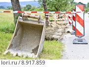 Купить «engineering barrier baggerschaufel building machine», фото № 8917859, снято 19 марта 2019 г. (c) PantherMedia / Фотобанк Лори