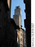 Купить «italy tuscany towers old town», фото № 8919507, снято 17 ноября 2018 г. (c) PantherMedia / Фотобанк Лори