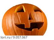 Купить «Happy pumpkin for halloween», фото № 9057067, снято 18 октября 2018 г. (c) PantherMedia / Фотобанк Лори