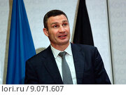 Купить «Berlin, Germany, Vitali Klitschko, UDAR, Mayor of Kiev», фото № 9071607, снято 12 сентября 2014 г. (c) Caro Photoagency / Фотобанк Лори