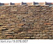 Купить «building house historical brick tile», фото № 9078007, снято 27 марта 2019 г. (c) PantherMedia / Фотобанк Лори