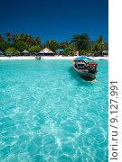 Купить «Traditional Boat Crystal Clear Water», фото № 9127991, снято 21 марта 2019 г. (c) PantherMedia / Фотобанк Лори