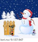 Купить «Winter background», фото № 9137947, снято 4 августа 2020 г. (c) PantherMedia / Фотобанк Лори