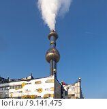 Купить «vienna incinerator hundertwasser mva spittelau», фото № 9141475, снято 26 апреля 2019 г. (c) PantherMedia / Фотобанк Лори