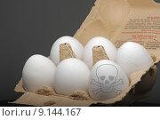 Купить «food egg sick ill eco», фото № 9144167, снято 26 июня 2019 г. (c) PantherMedia / Фотобанк Лори