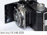 Старый фотоаппарат. Стоковое фото, фотограф Денис Приходько-Муханов / Фотобанк Лори