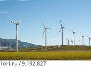 Купить «Wind Turbines», фото № 9192827, снято 22 сентября 2018 г. (c) PantherMedia / Фотобанк Лори
