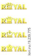 Купить «Golden Word Royal - Crowns», фото № 9239775, снято 18 июня 2018 г. (c) PantherMedia / Фотобанк Лори