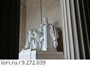 Мемориал Линкольна в Вашингтоне (2012 год). Редакционное фото, фотограф Азат Шарипов / Фотобанк Лори