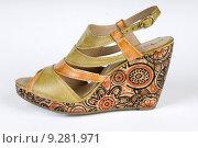 Купить «woman fashion material heat boot», фото № 9281971, снято 18 июня 2019 г. (c) PantherMedia / Фотобанк Лори