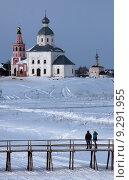 Купить «Зима в Суздале», фото № 9291955, снято 7 марта 2011 г. (c) Минаев Сергей / Фотобанк Лори