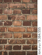 Купить «Worn brick wall», фото № 9384555, снято 15 декабря 2018 г. (c) PantherMedia / Фотобанк Лори
