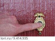 Купить «Ringing Doorbell», фото № 9414935, снято 7 декабря 2019 г. (c) PantherMedia / Фотобанк Лори
