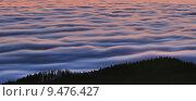 Купить «sky sunset weather alps fog», фото № 9476427, снято 17 июля 2019 г. (c) PantherMedia / Фотобанк Лори
