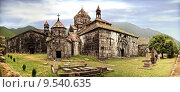 Купить «Ancient Christian Monastery / Church in Armenia - Haghpat Monastery», фото № 9540635, снято 23 апреля 2019 г. (c) PantherMedia / Фотобанк Лори