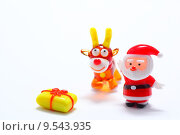 Купить «Christmas present from Santa Claus», фото № 9543935, снято 20 сентября 2018 г. (c) PantherMedia / Фотобанк Лори