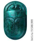 ancient Egyptian scarab beetle. Стоковое фото, фотограф Paul Fleet / PantherMedia / Фотобанк Лори