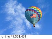 Купить «hot air balloon», фото № 9551431, снято 19 октября 2019 г. (c) PantherMedia / Фотобанк Лори