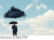 Купить «Pessimist in business», фото № 9583779, снято 17 марта 2014 г. (c) Sergey Nivens / Фотобанк Лори