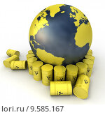 Купить «Nuclear waste disposal», фото № 9585167, снято 21 июля 2019 г. (c) PantherMedia / Фотобанк Лори