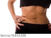 Купить «body waist fat dieting stomach», фото № 9613539, снято 22 июля 2019 г. (c) PantherMedia / Фотобанк Лори