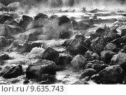 Горная река. Стоковое фото, фотограф Антон Глущенко / Фотобанк Лори