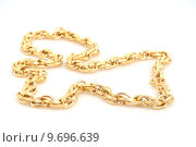 Купить «golden chain goldkette beautiful beauty», фото № 9696639, снято 24 августа 2019 г. (c) PantherMedia / Фотобанк Лори