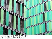 Купить «green building home house front», фото № 9738747, снято 17 июля 2018 г. (c) PantherMedia / Фотобанк Лори