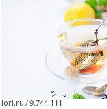 Купить «Чай», фото № 9744111, снято 26 мая 2015 г. (c) Наталия Кленова / Фотобанк Лори