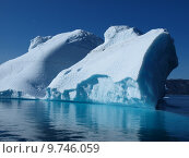 Купить «Iceberg, Greenland west coast in summer.», фото № 9746059, снято 23 апреля 2018 г. (c) PantherMedia / Фотобанк Лори