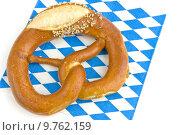 Купить «napkin bavaria bavarian pretzel bretzel», фото № 9762159, снято 22 мая 2019 г. (c) PantherMedia / Фотобанк Лори