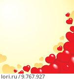 Купить «Heart theme background 1», иллюстрация № 9767927 (c) PantherMedia / Фотобанк Лори