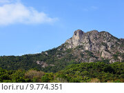 Lion Rock, symbol of Hong Kong spirit. Стоковое фото, фотограф Leung Cho Pan / PantherMedia / Фотобанк Лори